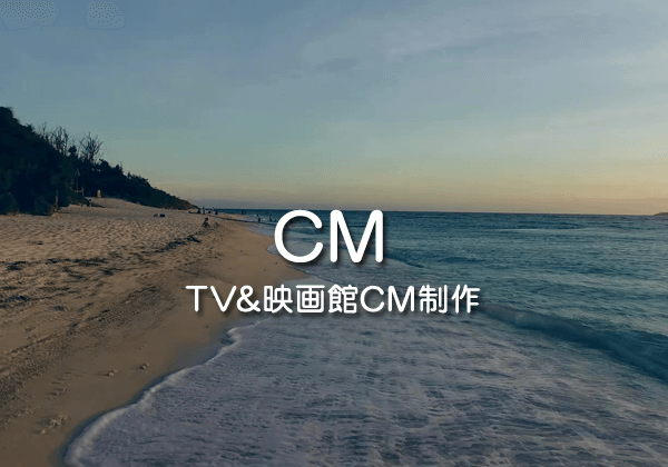 テレビ・映画館CM制作