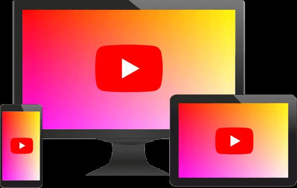 YouTube動画デバイスアイコン